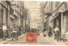 41 -  SAINT-AIGNAN-sur-CHER - Rue Rouget De L'Isle   12 - Saint Aignan