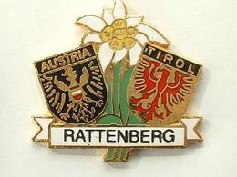Pin's RATTENBERG - AUTRICHE - TIROL - Cities