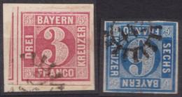 """GMR, """"442, Klar Auf Mi-Nr. 9 Und 10 - Bayern"""