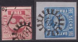 """GMR, """"491"""", Klar Auf Mi-Nr. 9 Und 10 - Bayern"""
