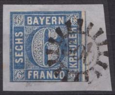 "GMR, ""500"", Klar Auf Mi-Nr. 10 - Bayern"