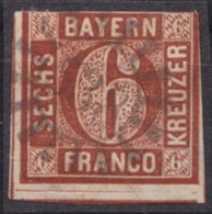 "GMR, ""538"", Zentr. Auf Mi-Nr. 4 - Bayern"