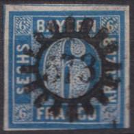 """GMR, """"573"""", Klar Und Zentr. Auf MiNr . 10 - Bayern"""