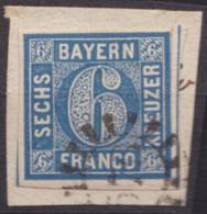 "GMR, ""576"", Klar Auf Mi-Nr. 10 - Bayern"