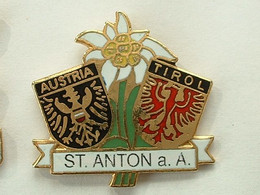 Pin's ST ANTON - AUTRICHE - TIROL - Cities