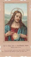 Santino Fustellato Sacro Cuore Di Gesu' - Devotion Images