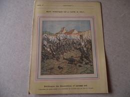 Protège Cahier, Fin XIX, DEFENSE DE BAZEILLES,  Récits Patriotiques, Guerre 70/71, - Protège-cahiers