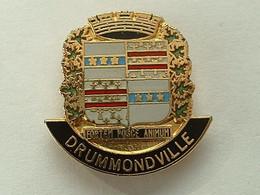 Pin's  DRUMMONDVILLE- QUEBEC - CANADA - Cities