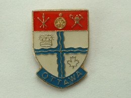 Pin's  OTTAWA - CANADA - Cities