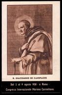 "Beato Giacomo (de Canepaciis) Detto Da Crevacuore - (metà Novecento) - ""Riproduzione"" - Devotion Images"