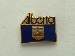 Pin's  ALBERTA - CANADA - Cities