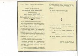 Dp 10998 - JULIE BOGAERT - CHRISTIAEN - STADEN 1871 + IEPER 1956 - Devotion Images