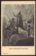 """Beato Giustino De Jacobis Da San Fele (Potenza) Vescovo In Etiopia - (1939) - """"Riproduzione"""" - Devotion Images"""