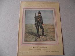 Protège Cahier, Fin XIX, ARMEE ALLEMANDE,  Récits Patriotiques, Guerre 70/71, Chasseur à Pied - Protège-cahiers
