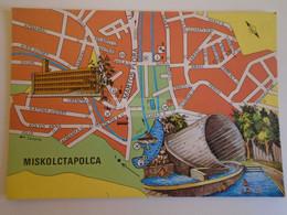 D173731  Map Carte Hungary  Miskolc Tapolca - Landkaarten