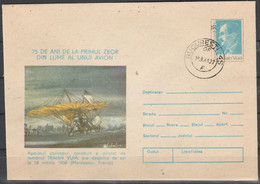 Entiers Postaux TRAIAN VUIA - Stamps