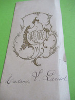 Menu Ancien à 2 Volets  /Mariage Renée LEGROS - Henri PARISOT/ Hotel De France /Raftalli/ VERSAILLES/1921    MENU304 - Menus
