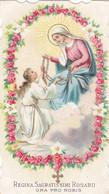 Santino Fustellato Regina Sacratissimi Rosarii - Devotion Images