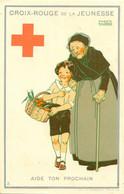 MAGGIE SALZADO BELGIUM  RED CROSS ADVERT MEDICAL MEDICINE  AIDE TON PROCHAIN - Croce Rossa