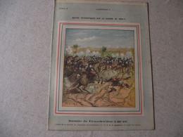 Protège Cahier, Fin XIX, Bataille De FROESCWILLER,N°2  Récits Patriotiques, Guerre 70/71, - Protège-cahiers