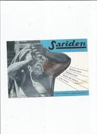 BUVARD  ANCIEN /  BUVARD CARTONNE SARIDON PHARMACIE - Chemist's