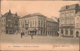 Tienen, Thienen, Tirlemont,Place De La Station, TOPKAART!!!! - Tienen
