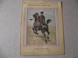 Protège Cahier, Fin XIX, ARMEE ALLEMANDE,   Récits Patriotiques, Guerre 70/71, Major Des Hussards Rouges - Protège-cahiers