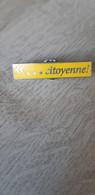 Pin's Citoyenne - Pins