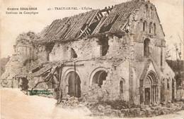 Tracy-le-Val : L'église - Autres Communes