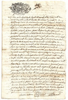 Documents Historiques TIMBRE DIMENSION 1779 GABEL GENE DEUX SOLS CONSTITUTION RENTES RELIGIEUSES CONFLANS MARTHOD SAVOIE - Historische Dokumente