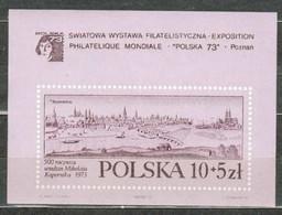 POLAND MNH ** Bloc 62 Exposition à POZNAN NICOLAS COPERNIC - Blocks & Sheetlets & Panes