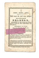 D 782. ANNA- ELISABETH PELSERS - + BEVERLOO 1851( 58 Jaren) Echtg. Van F. JAMAR +BEVERLOO 1843 (54jaren) - Devotion Images