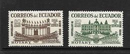 EQUATEUR 1955 ROTARY YVERT N°A277/78 NEUF MNH** - Rotary Club
