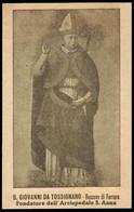 """Beato Giovanni Tavelli Da Tossignano Vescovo Di Ferrara / Fondò L' Ospedale Sant'Anna - (anni Quaranta) - """"Riproduzione"""" - Devotion Images"""