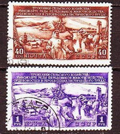 USSR 1949. Livestock Farming. 2 Stamps. Mi. Nr.1399-00 - 1923-1991 URSS
