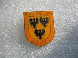 Pin's Embleme De La Commune De RANTZWILLER Dans Le Sundgau (Dépt 68) - Cities