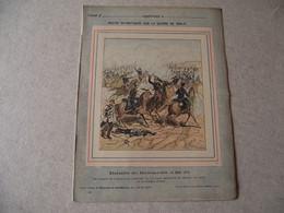 Protège Cahier, Fin XIX,  Bataille De REZONVILLE   Récits Patriotiques, Guerre 70/71, - Protège-cahiers