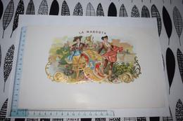 Grande étiquette Boîte à Cigare La Mascota Toréador Jeune Femme Homme - Etiketten