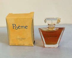 "Miniature ""POÊME"" De LANCÔME Parfum 4 Ml Dans Sa Boite (71-Lo) - Modern Miniatures (from 1961)"