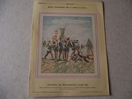 Protège Cahier, Fin XIX,  Bataille De REZONVILLE, N°2   Récits Patriotiques, Guerre 70/71, - Protège-cahiers