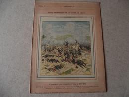 Protège Cahier, Fin XIX,  Combat De SPICKEREN ,   Récits Patriotiques, Guerre 70/71, - Protège-cahiers