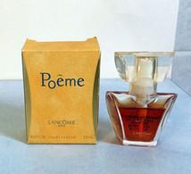 """Miniature """"POÊME"""" De LANCÔME Eau De  Parfum SPRAY 7 Ml Dans Sa Boite (71-Lo) - Modern Miniatures (from 1961)"""