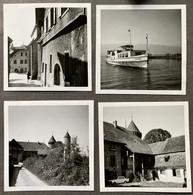 Estavayer-le-Lac FR/ Bâteau ,Cygne' 4 Photo Ca. 1968 - Barche