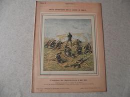 Protège Cahier, Fin XIX,  Combat De SPICKEREN ,N°3   Récits Patriotiques, Guerre 70/71, - Protège-cahiers