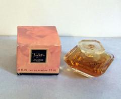 "Miniature ""TRESOR"" De LANCÔME Eau De  Parfum  7,5 Ml Dans Sa Boite (71-Lo) - Modern Miniatures (from 1961)"