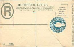 Trinidad. Env. Rec. C 8b (Higgins)  SPECIMEN - Trinidad & Tobago (...-1961)