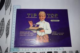 Grande étiquette Boîte à Cigare Tip Top Supremos Van Maaren Holland Jeune Serveur Garçon - Etiketten
