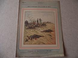Protège Cahier, Fin XIX,  Combat De SPICKEREN ,N°4  Récits Patriotiques, Guerre 70/71, - Protège-cahiers