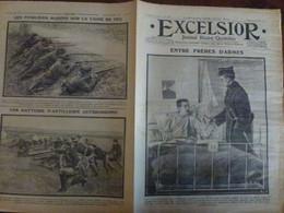 Journal Excelsior 26 Octobre 1914 1441 Hôpital Auxiliaire De Paris Adelina Patti Camp Indien Fusiliers   WW1 Guerre - Autres