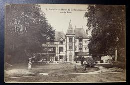 CPA - BOURRON-MARLOTTE (77) - Hôtel De La Renaissance Sur Le Parc - Otros Municipios